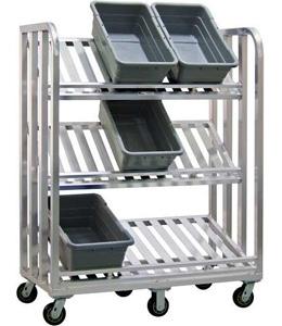 Aluminum Hand Truck Utility Cart Material Handling